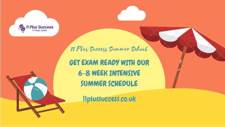 11+ plus intensive summer course